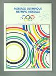 Magazine - 'Olympic Message',  No 15 September 1986