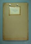 Manila Folder labelled 'Averages Claxton Shield 1961 S.A.