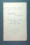 West Australian Baseball League Annual Report 28 March 1961