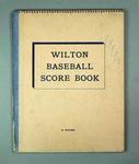 Wilton Baseball Score Book - 1961 Claxton Shield Competition results