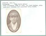 Trade card featuring Jack Gregory, Wills Cigarettes c1930s
