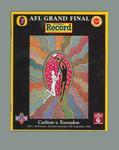 Booklet - 'Football Record'  Grand Final Vol. 82, No. 26. 25 September 1993
