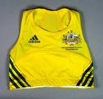 Top worn by Kerryn McCann, Women's Marathon, 2006 Commonwealth Games