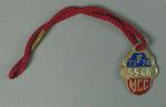 Full membership medallion issued by the MCC for season 1973/74
