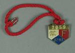 Full membership medallion issued by the MCC for season 1982/83