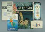Publications and tickets relating to 1956 Melbourne Olympic Games