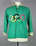 Guernsey worn by Denis Cordner during an Australian Rules exhibition match at the 1956 Olympic Games