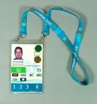 Accreditation for 2006 Commonwealth Games, issued to Justin Madden