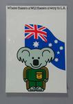 Poster, 1984 Australian Olympic Games team