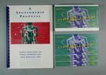 Lachlan Jones' Sponsorship Proposal Kit: Folio, Cards (x3), VHS cassette.
