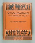 Official report of 1932 Los Angeles Olympic Games