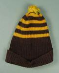 Beanie, Hawthorn FC colours c1950s-60s