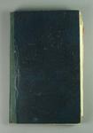 Dark blue Scrapbook kept by J. Dobbie relating to Lacrosse