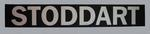 Replica MCG scoreboard banner, printed 'STODDART'