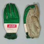 Lacrosse gloves, used at 1986 World Cup Tournament