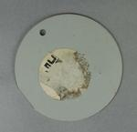 Circular bowler's marker, circa 1985-2007