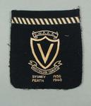 Blazer pocket, VWAAA Australian Championships 1936 & 1940