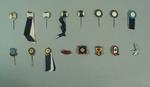 Badges, associated with Australian baseball c1940-56