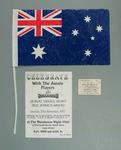 1997 World Cup Qualifier match items x 3,  Socceroos v Iran  at MCG, 29/11/97