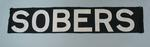 "MCG scoreboard banner, painted ""SOBERS"""