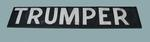 "MCG scoreboard banner, painted ""TRUMPER"""