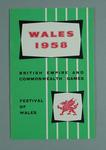 Booklet, 1958 British Empire & Commonwealth Games