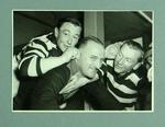 Ten photograph of various radio and sporting personalities, Radio 3DB collection