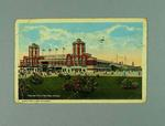 Postcard from Chicago written by Les Darcy to Maurice O'Sullivan 10/2/1917