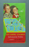1956 Olympic Games Information Folder and Game