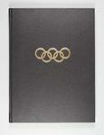 Stamp album containing Olympic Games related material, vol 7