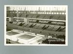 Postcard, depicts 1936 Olympic Games stadium interior