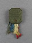 Bronze 1938 British Empire Games Australian Team badge, worn by swimmer Les Phillips
