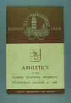 Programme for 1948 London Olympic Games athletics events, 4 August