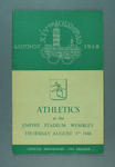 Programme for 1948 London Olympic Games athletics events, 5 August