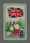 1956 Melbourne Olympic Games Swap Card - Great Britain