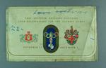 1956 Olympic Games Souvenir Ticket Envelope