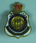 Returned Servicemen's Association badge, awarded to WEH Jarvis