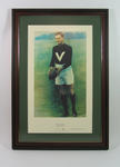 Print of Roy Cazaly, limited edition print number 19/1500