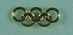 Stick pin, Olympic Rings