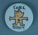 Cobi Mascot Badge -  the official 1992 Barcelona Olympic Games Mascot
