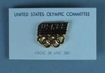 """Lapel Pin - United States Olympic Committee """"USA 88"""" Lapel Pin"""