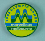 Badge, Marvellous Melbourne 1988 Olympic Games