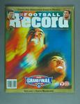 Magazine - 'The Football Record'  Vol 87 No 26, AFL Grand Final 26/9/98