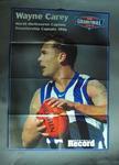 Poster - 1998 Grand Final Premiership Captains Wayne Carey & Mark Bickley