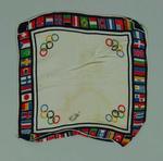 Silk handkerchief, 1936 Olympic Games