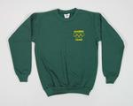 Child's Green Windcheater with Olympic Village Logo & Rings