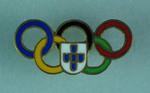 Tie tack, Olympic Games Committee of unidentified country