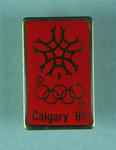 Badge, 1988 Calgary Winter Olympic Games