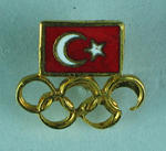 Badge, National Olympic Committee of Turkey