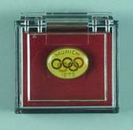 Tie pin, 1972 Munich Olympic Games